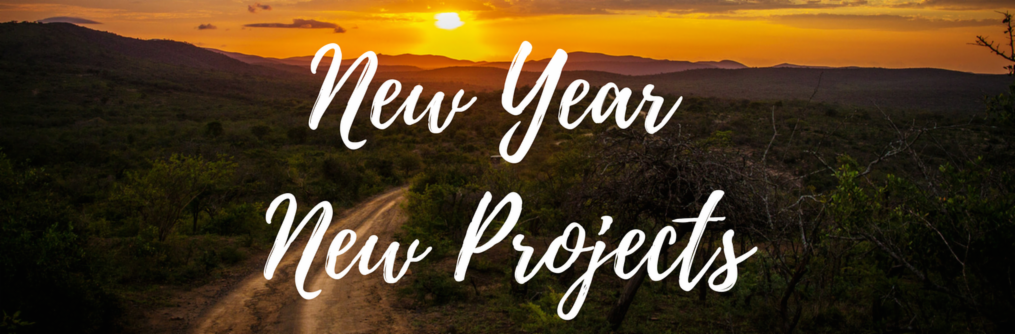 New Year, new projects banner